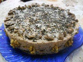 Снимка 1 от рецепта за Орехова торта с бисквити