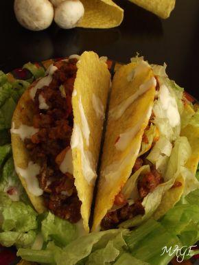 Снимка 1 от рецепта за Мексикански такоси с телешка кайма
