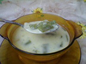 Снимка 1 от рецепта за Млечна супа от зелен фасул