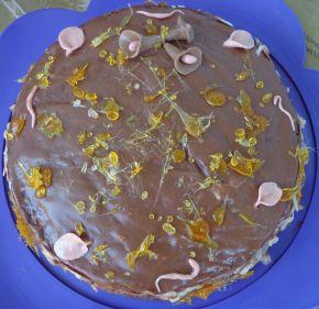 Снимка 1 от рецепта за Шоколадова торта