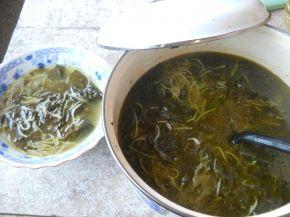 Снимка 1 от рецепта за Супа от лапад с фиде