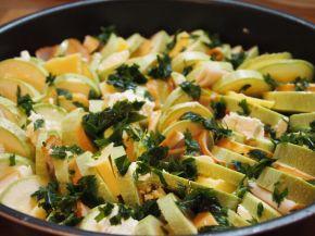 Снимка 1 от рецепта за Венец от тиквички
