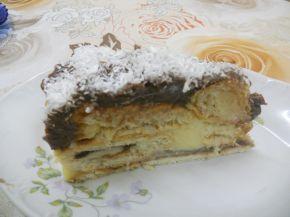Снимка 1 от рецепта за Торта с кроасани - II вариант