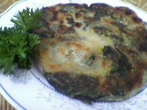 Снимка 1 от рецепта за Банички на сач със спанак