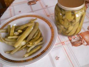 Снимка 1 от рецепта за Консервиран зелен фасул - II вариант