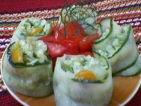 Снимка 1 от рецепта за Зеленчуково `суши`