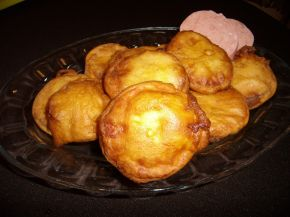 Снимка 1 от рецепта за Паниран салам (Камчия или Телешки)