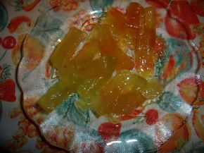 Снимка 1 от рецепта за Сладко  от  динени  кори