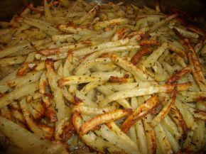 Снимка 1 от рецепта за Картофени  пръчици  на  фурна