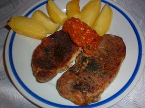 Снимка 1 от рецепта за Пържоли на фурна