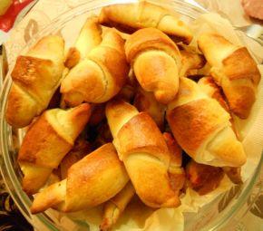Снимка 1 от рецепта за Кифлички със сирене - II вариант