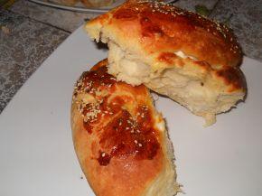 Снимка 1 от рецепта за Тутманик с плънка от сирене и яйца