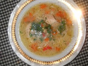 Снимка 1 от рецепта за Супа от пиле и зеленчуци