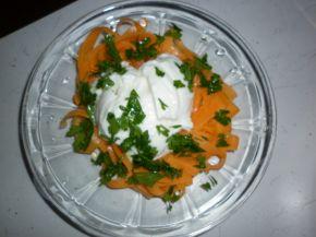 Снимка 1 от рецепта за Салата от моркови и мляко