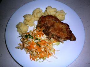 Снимка 1 от рецепта за Свински котлети с мед