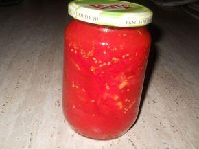 Снимка 1 от рецепта за Консервирани червени домати