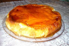 Снимка 1 от рецепта за Крем-карамелова торта с козунак