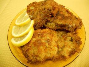 Снимка 1 от рецепта за Бяла риба с кашкавалена панировка