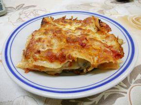 Снимка 1 от рецепта за Лазаня с гъби и топено сирене