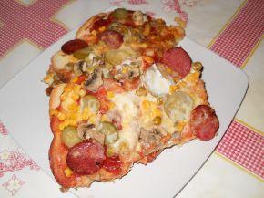 Снимка 1 от рецепта за Пица `Аламинут`