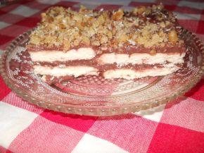 Снимка 1 от рецепта за Бисквитена торта с какаов крем