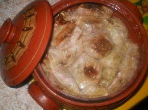 Снимка 1 от рецепта за Постни зелеви сарми в гювеч