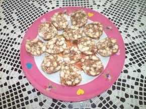 Снимка 1 от рецепта за Сладък салам с локум