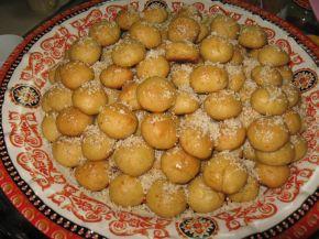Снимка 1 от рецепта за Гръцки портокалови курабийки с мед