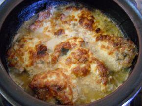 Снимка 1 от рецепта за Свински пържоли в гювеч