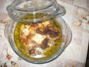 Снимка 1 от рецепта за Пилешки бутчета с пушено сирене и бира