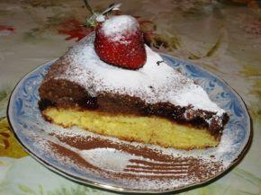 Снимка 1 от рецепта за Сладкиш `Ден и нощ`