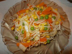 Снимка 1 от рецепта за Нудели със зеленчуци