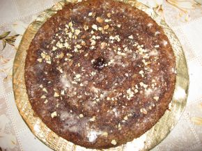 Снимка 1 от рецепта за Вкусен ябълков сладкиш