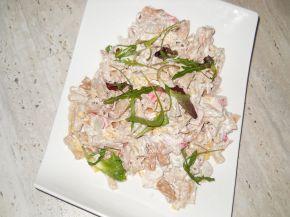 Снимка 1 от рецепта за Салата с препечени макарони