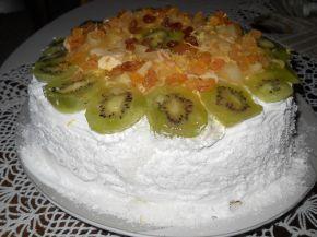 Снимка 1 от рецепта за Пандишпанена торта `Екзотик`