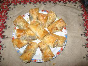 Снимка 1 от рецепта за Вкусни пликчета с пилешко месо, гъбки и топено сирене