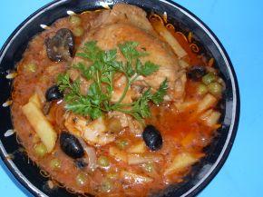 Снимка 1 от рецепта за Пилешки бутчета по карнобатски