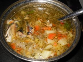 Снимка 1 от рецепта за Рибена чорба