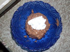 Снимка 1 от рецепта за Шоколадово изкушение с ябълки