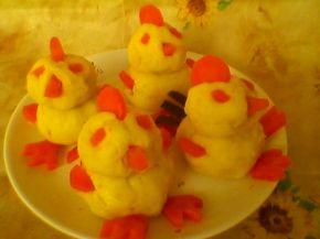 Снимка 1 от рецепта за Пиленца от картофено пюре за гарнитура