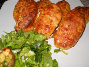 Снимка 1 от рецепта за Картофени шницели на фурна