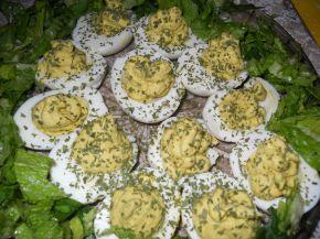 Снимка 1 от рецепта за Яйца с авокадо и горчица