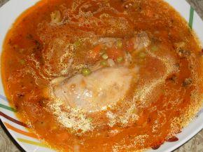Снимка 1 от рецепта за Заешко месо с грах