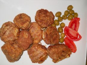 Снимка 1 от рецепта за Панирани кюфтенца