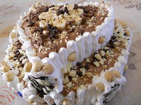 Снимка 1 от рецепта за Торта Любов