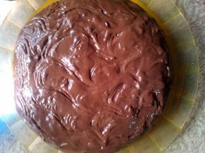 Снимка 1 от рецепта за Бърза шоколадова торта