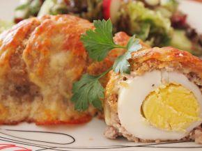 Снимка 1 от рецепта за Облечени яйца