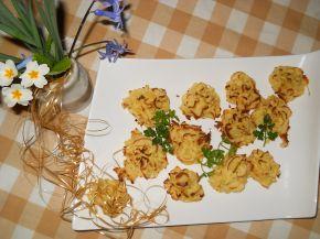 Снимка 1 от рецепта за Розички от картофено пюре