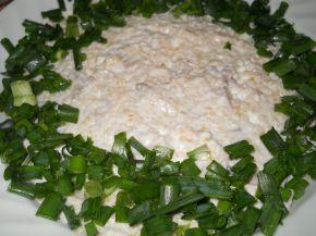 Снимка 1 от рецепта за Салата с булгур, гъби и майонеза