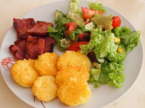 Снимка 1 от рецепта за Хапки от сирене `Едам`